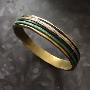 Silpada KR brand bangle
